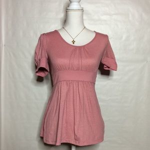 Tops - Pink dot blouse P1